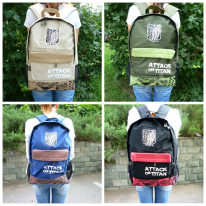 Attack on Titan Backpack Four colors