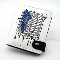 Attack on Titan Scouting Legion White Wallet