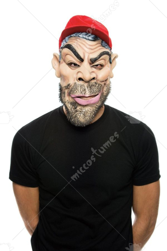 Outcast Schools Fools Adult Mask