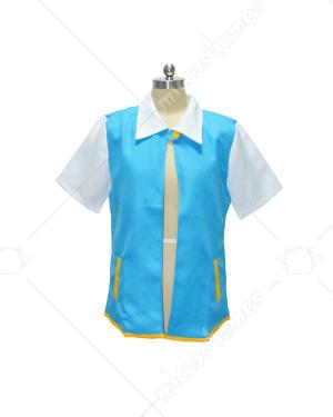 X And Y Ash Ketchum Trainer Coat Jacket Costume Tops