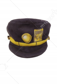 JoJos Bizarre Adventure Jotaro Kujo Pets Costume Accessories Pets Hat Photo Prop for Cats Small Dogs