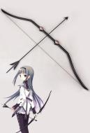 Puella Magi Madoka Magica Akemi Homura Cosplay Bow And Arrow