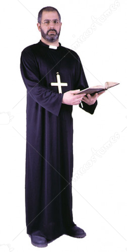 Deluxe Priest Adult Costume