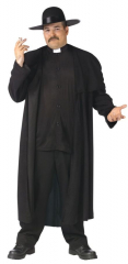 Priest Deluxe Plus Size Adult Costume