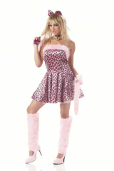 Purrty Kitty Costume Adult