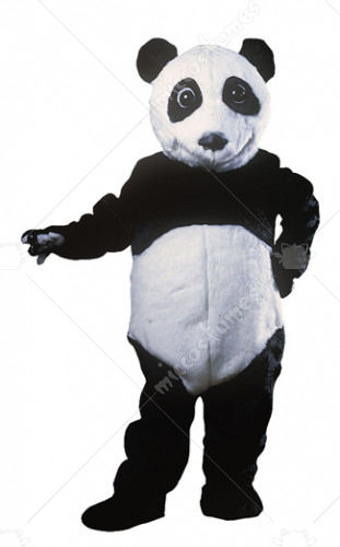 Panda Bear Mascot Adult Costume