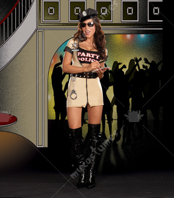 Party Police Adult Costume