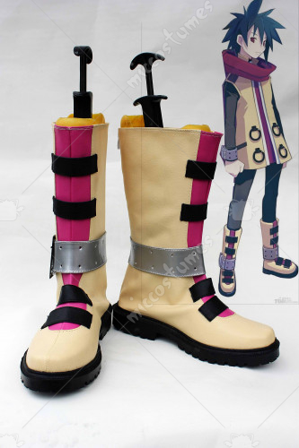Phantom Brave Ashu Cosplay Shoes