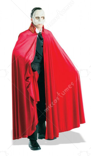 Phantom Of The Opera Deluxe Cape Adult Costume