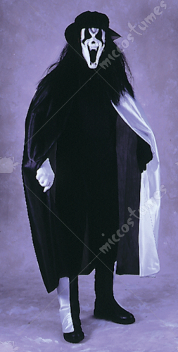 Phantom of Rock Opera Adult Costume