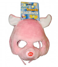 Pig Half Mask With Fun Sound