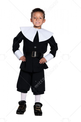 Pilgrim Boy Children Costume
