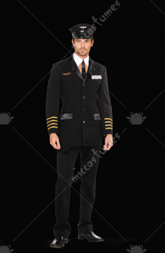 Pilot Hugh Jorgan Adult Costume