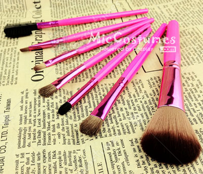 Pink Tools Foundation Brush For Cosplay Makeup
