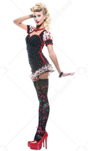 Pinup Girl French Kiss Costume