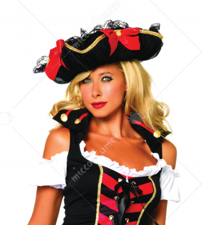 Pirate Hat With Chiffon