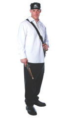 Pirate Shirt Mens One Size Adult Costume