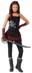 Pirate Skull Rocker Child Costume