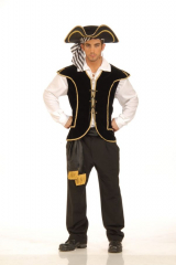 Pirate Vest Male Adult Costume
