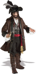 Pirates Caribbean Adult Costume