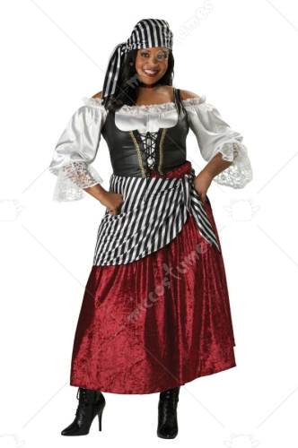 Pirates Wench Adult Plus Costume