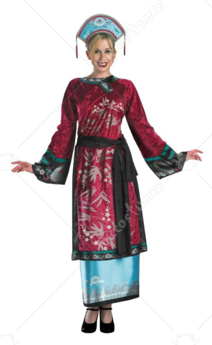 Pirates of the Carribbean Elizabeth Geisha Teen Costume