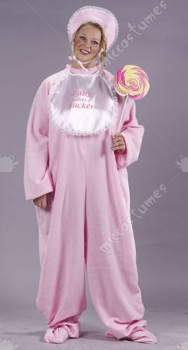 Be My Baby Jammies Adult Plus Costume