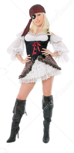 Playboy Buccaneer Beauty Adult Costume