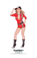 Playboy Racy Racer Adult Costume