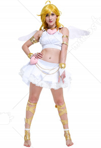 Panty & Stocking with Garterbelt Panty Cosplay Costume