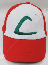 Deluxe Pokemon X And Y Ash Ketchum Red Cap Hat