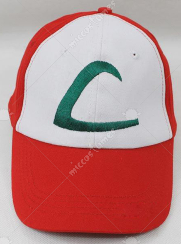 Deluxe Pokemon Ash Ketchum Red Cap Hat