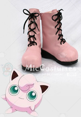 Pokemon Rondoudou Cosplay Shoes