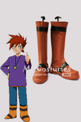 Pokemon Special Version Shigeru Cosplay Boots