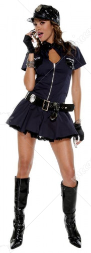 Police Playmate Adult Costume