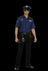 Policeman Youre Busted Adult Costume