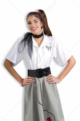 Poodle Blouse Adult Costume