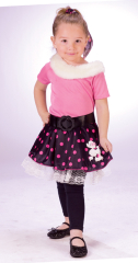Poodle Dog Toddler Costume