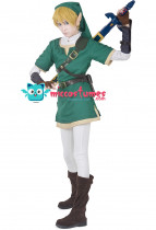Premium Zelda Twilight Princess Link Cosplay Costume