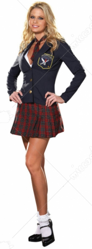 Prep School Delinquent Adult Costume