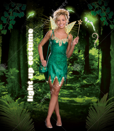 Pretty Pixie Tween Costume