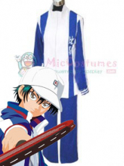 Prince Of Tennis Higa Middle School Winter Uniform Cosplay Costu