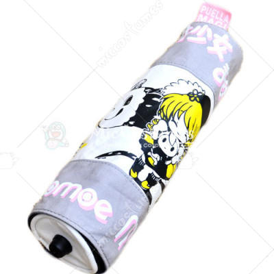 Puella Magi Madoka Scroll Pencil Bag Grey