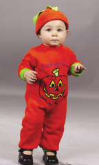 Pumpkin Jumpsuit Costume