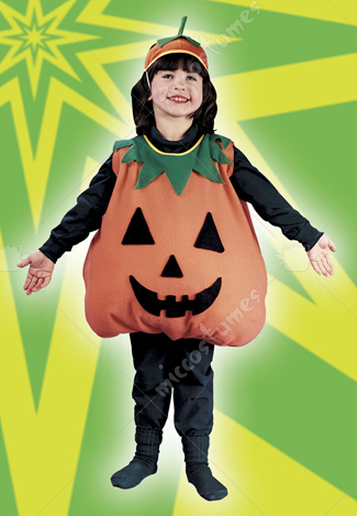 Pumpkin Toddler Plump Costume