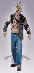 Punk Zombie Adult Costume