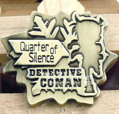 Quarter of Silence Conan Badge