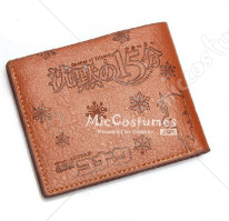 Quarter of Silence Conan Bifold Leather Wallet Brown