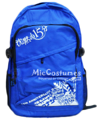 Quarter of Silence Conan Blue School Bag