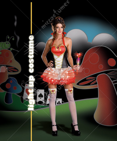 Queen Of Heartbreakers Light Up Adult Costume